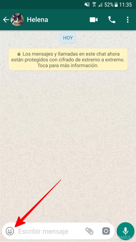 Como Enviar Un Gif Animado Por Whatsapp