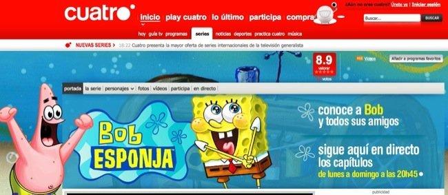 SpongeBob en Cuatro