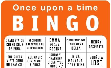 El bingo para la season finale de 'Once upon a time', la imagen de la semana