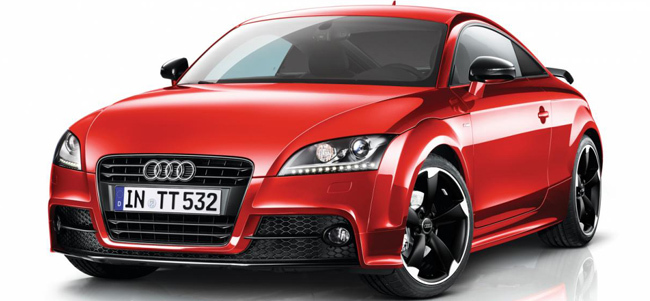 Audi TT Amplified Black, sólo para Reino Unido