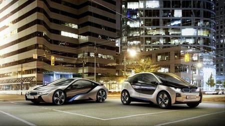 Nuevos vídeos de BMW i3  y BMW i8