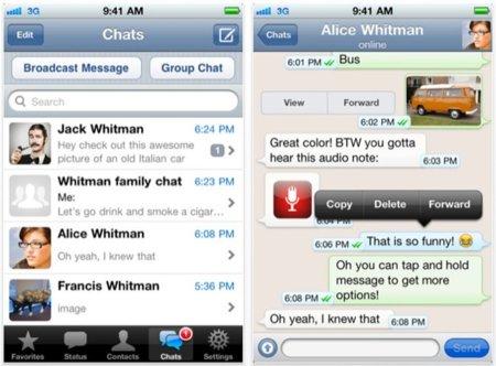 WhatsApp Messenger, gratuito por tiempo limitado