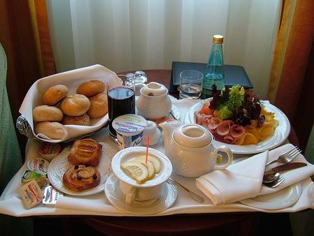 No quiero un desayuno saludable en mi hotel