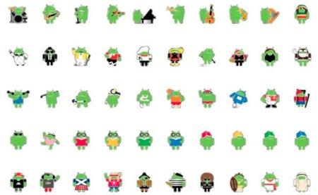 La imagen de la semana: Los pines de Android en el MWC