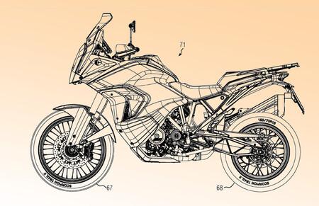 La KTM 1290 Super Adventure seguirá las líneas de la KTM 890 Adventure cuando se actualice, según estas patentes