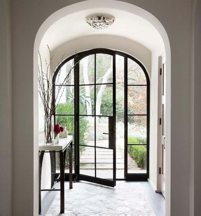 Una entrada espectacular es la mejor tarjeta de visita - Fotos de recibidores de casas ...