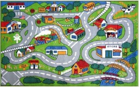 alfombras niños coches