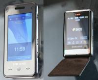 Nuevos móviles de Samsung con pantalla táctil