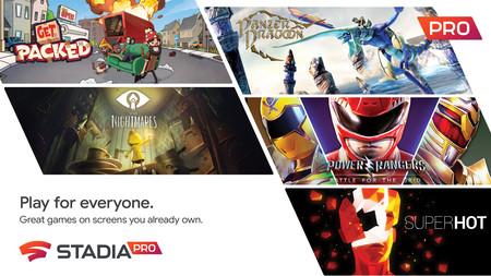 Get Packed, Little Nightmares y Panzer Dragoon: Remake entre los nuevos juegos que se unirán a Stadia Pro en junio