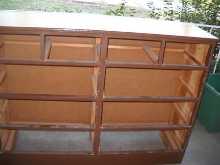 Como pintar y renovar un mueble de madera paso a paso - Como hacer un mueble de salon ...