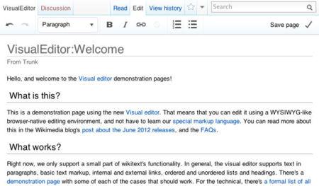 Wikimedia presenta un nuevo prototipo de editor visual