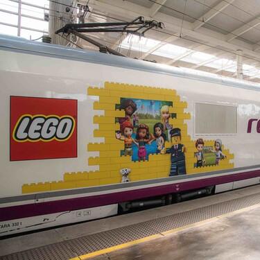 El Grupo Lego y Renfe se unen este verano para ofrecer viajes en familia repletos de diversión