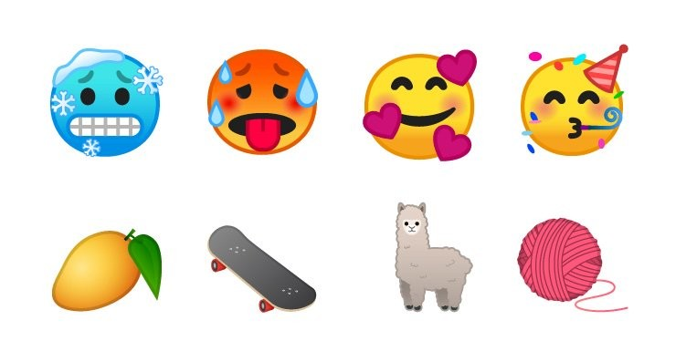 New Emojis Android-OS P Beta 2 Emojipedia
