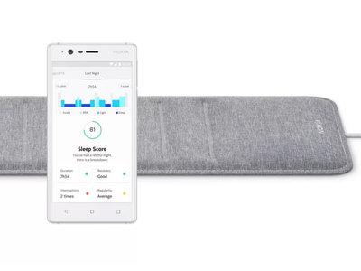¿Problemas para medir el sueño? Si una pulsera cuantificadora no es suficiente, es sensor de Nokia puede ser la solución ideal