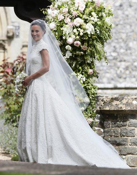 Analizamos el look de Pippa Middleton en el día de su boda