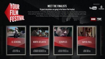 El Your Film Festival de YouTube ya tiene sus 10 finalistas