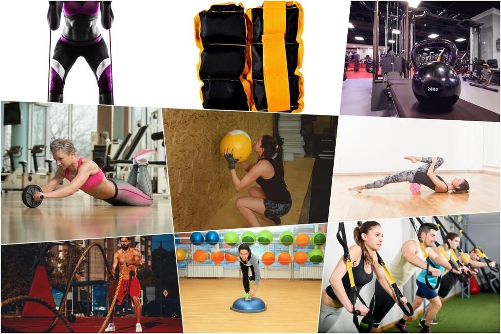 Kettlebells, gomas elásticas, poleas... 17 accesorios con los que puedes entrenar en casa o en el gimnasio (y cómo utilizar cada uno de ellos)