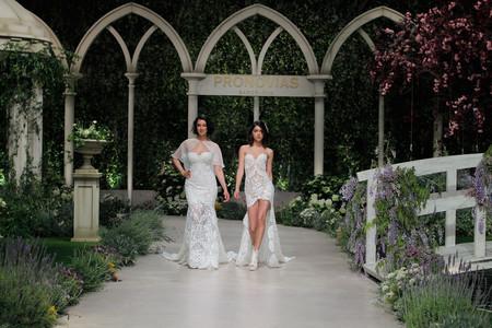 Pronovias Fashion Show Blanca Romero Y Lucia Rivera