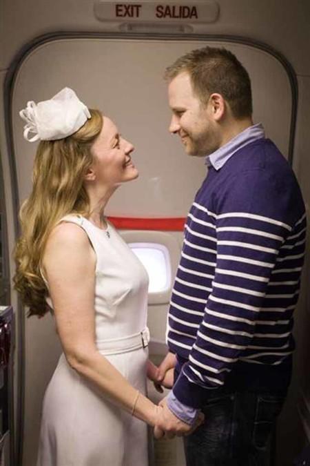 Con esta boda de altos vuelos se cumplió el sueño de una madre muy enferma
