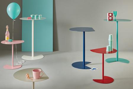 Tres alturas, quince colores e infinitas posiciones tienen las mesas WAY by MEMEDESIGN