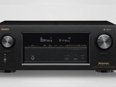 Denon renueva su gama media de receptores AV con dos modelos a la última en formatos de audio y vídeo