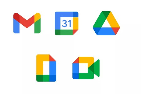 Google Workspace crea nuevos iconos