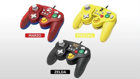 Hori presenta tres nuevos mandos de GameCube para Switch inspirados en los héroes de Nintendo