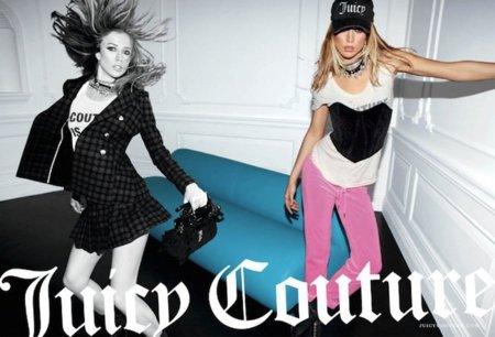 73a3512ea Campaña Juicy Couture Otoño-Invierno 2011/2012: Raquel Zimmermann es ...