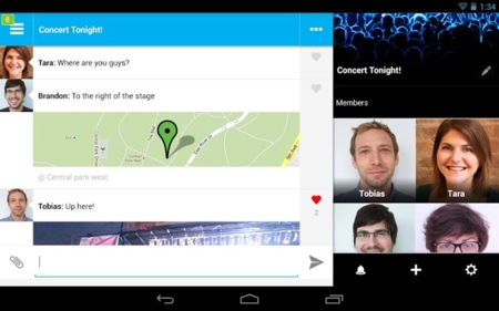 GroupMe Android Tablets