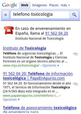 Llamadas de emergencias a un click con Google