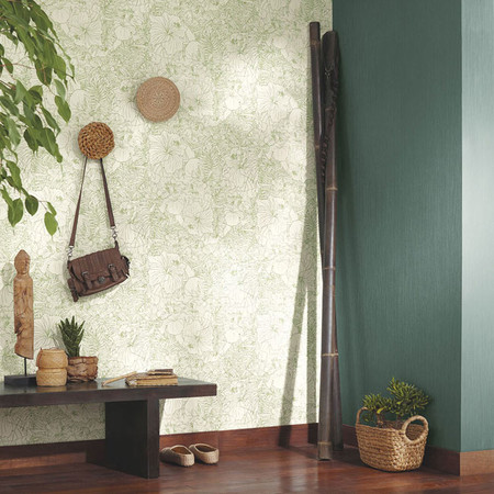 Use of wallpaper to brighten up your rooms