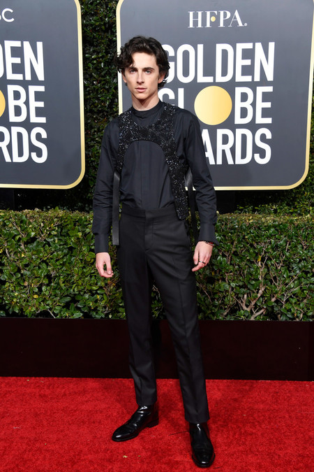 Timothee Chalamet 76th Annual Golden Globe Awards
