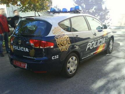 SEAT Altea XL policial