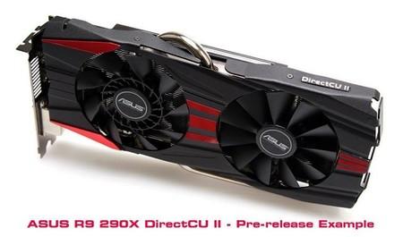 ASUS presume diseño preliminar de su Radeon R9 290X DirectCU II V2
