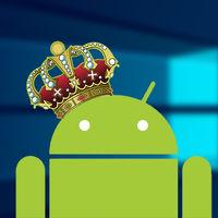 Según StatCounter, Android ya es más popular que Windows, convirtiéndose en el sistema operativo más usado del mundo