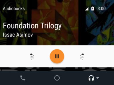 AudioBooks, la primera aplicación de audiolibros con soporte para Android Auto