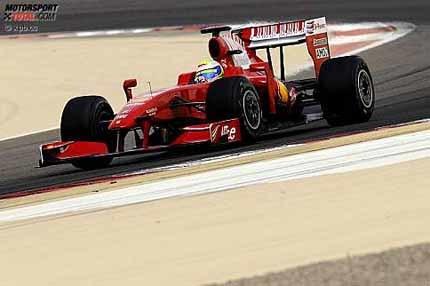 Felipe Massa lidera los tiempos en el último día de test en Bahrein