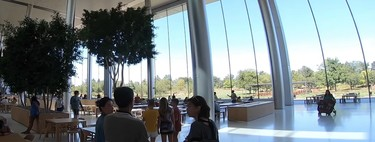Un vídeo en YouTube nos da vistas inéditas desde el interior del Apple Park