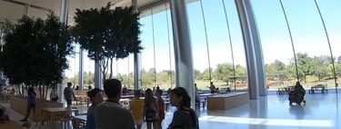 Un vídeo en YouTube nos da vistas inéditas desde el interior del Apple Park