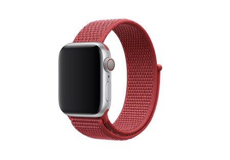 Apple pone a la venta una nueva correa para el Apple Watch: Sport Loop (PRODUCT)RED