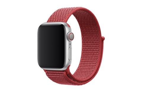 Apple pone a la venta una nueva correa para el Apple Watch: Sport Loop (PRODUCT)RED