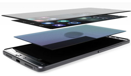 Capas de la pantalla del Huawei Mate S