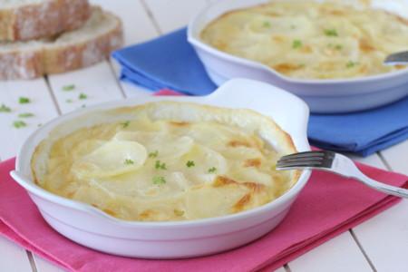 Camembert Nata Gratinado De Patatas Con Camembert