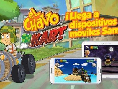 ¡Zas! El Chavo Kart salta a los dispositivos móviles