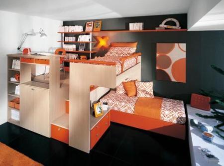 Otro ejemplo de dormitorio Sangiorgio