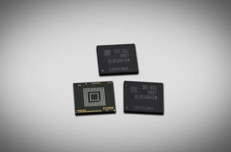 Samsung instalará chips de 256GB en sus smartphones