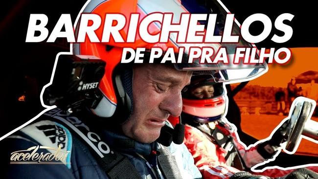 Video: Barrichello se conmueve hasta las lágrimas por las habilidades de su hijo al volante