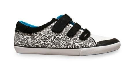 Tommy Hilfiger cuenta con Keith Haring para diseñar sus nuevas zapatillas, velcro