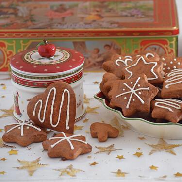 Galletas lebkuchen o figuras de pan de especias, receta muy sencilla para llenar de aromas nuestro hogar en Navidad