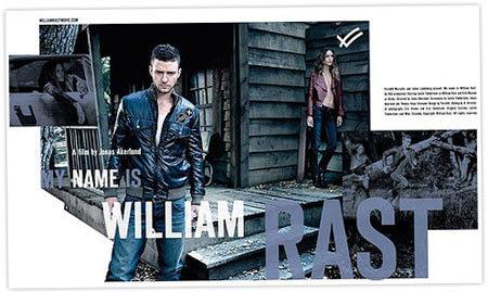 Justin Timberlake modela para su propia firma